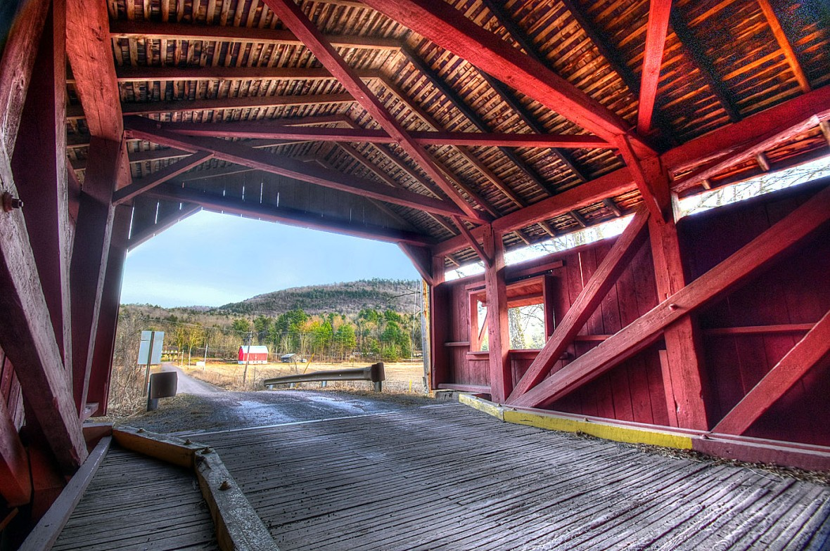 covered bridge inside